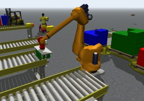 robotic palletizing